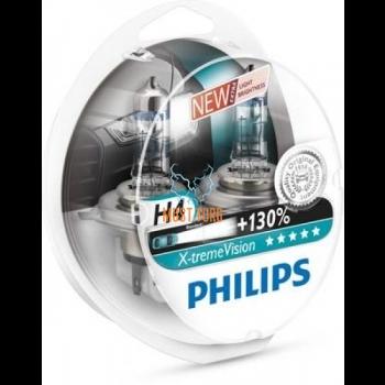 Autopirnid PHILIPS H4 X-tremeVision 130% 2tk