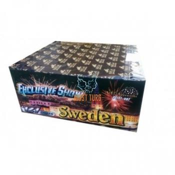 "Ilutulestik Ehclusive Show ""SWEDEN"" 127 lasku 23-25 cal III Kat"