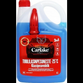 Klaasipesuvedelik vetthülgav -25 4L CARLAKE PREMIUM