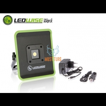 Work light with LED battery 20W, 12-24V, 1300lm, IP54