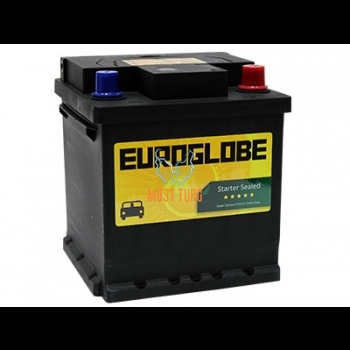 Car battery 40Ah 320A 175x175x190mm -/+ Euroglobe