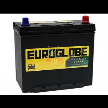 Autoaku 45Ah 238x129x225mm -/+ Euroglobe