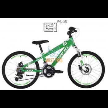 "Laste jalgratas Drag C1 Pro 20"" roheline/valge"