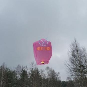 Taevalatern roosa