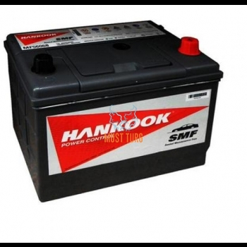 Car battery 60Ah 480A 230X172X220MM -/+ Hankook