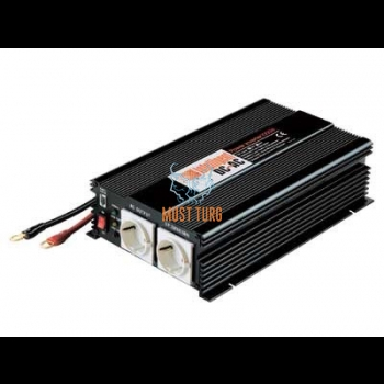Inverter 2x230VAC/24V 1000W defektiga