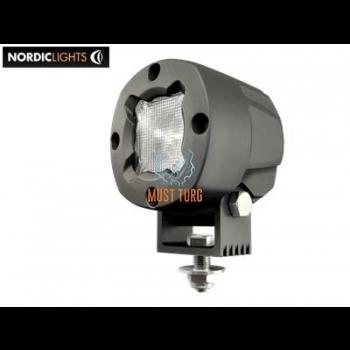 Töötuli LED 12-48V DC, 13W, IP68, EMC-sert, ADR-sert