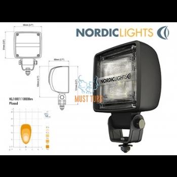 Töötuli LED 12-24V, 24W, IP68, EMC-sert
