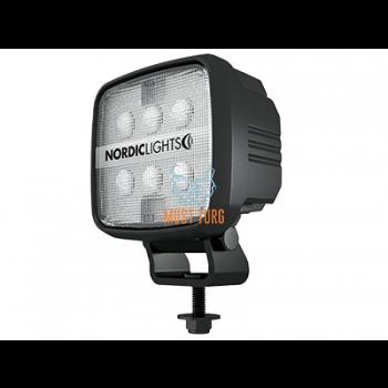 Töötuli LED 12-24V DC, 28W, 1800lm, IP68, EMC-sert, ADR-sert Nordic
