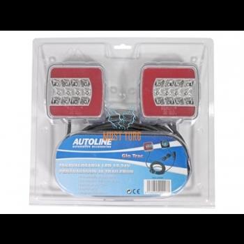 Tagatulede komplekt LED koos magnetkinnitusega 12-24V