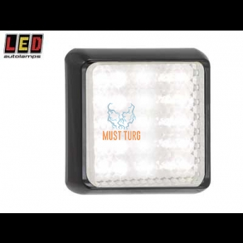 Tagurdustuli led 12-24V, 122x122x31mm