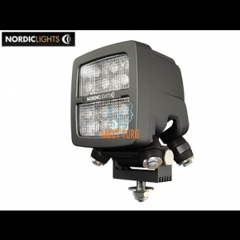 Töötuli LED 12-24V DC, 40W, IP68, EMC-sert, ADR-sert