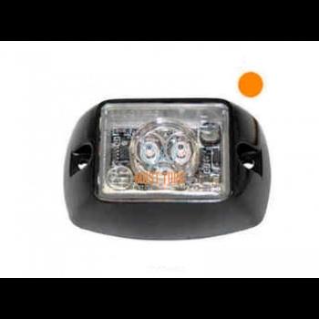 Pindvilkur-LED 12-24V, kollane, 19 vilkumisrežiimi, ECE R10