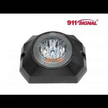 Pindvilkur-LED 12-24V, kollane, 13 vilkumisrežiimi, ECE R65, IP67
