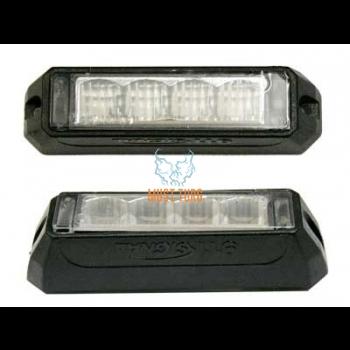 Pindvilkur-LED 12-24V, kollane, 19 vilkumisrežiimi, ECE R65/R10, IP68