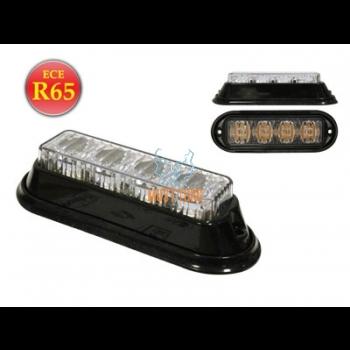 Uputatav pindvilkur-LED 12-24V, kollane, 23 vilkumisrežiimi, ECE R65, IP67 -533
