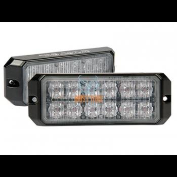 Uputatav pindvilkur-LED 12-24V, kollane, 25 vilkumisrežiimi, ECE R65, IP67 -526