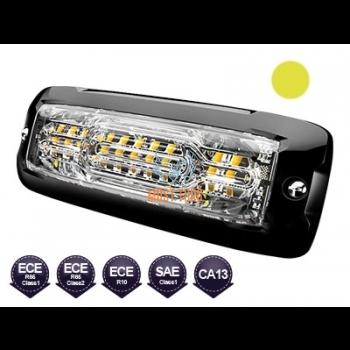 Pindvilkur-LED 12-24V, õhuke 10mm, kollane, ECE R65 -553