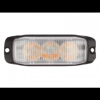 Pindvilkur-LED 12-24V, kollane, 9 vilkumisrežiimi, ECE R65/10, IP67