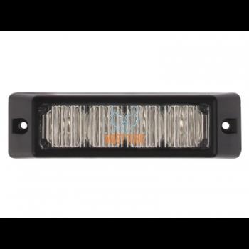 Pindvilkur-LED 12-24V, kollane, 18 vilkumisrežiimi, IP67, E9