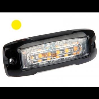 Pindvilkur-LED õhuke 10mm 12-24V, kollane, ECE R65/R10-05 -577