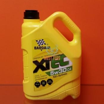 Mootoriõli 5W-30 C4 X-TEC 4L Bardahl 36152