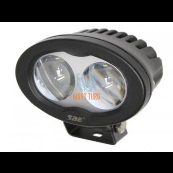 Märgutuli LED kahveltõstukitele, 9-110V, 6W, sinine
