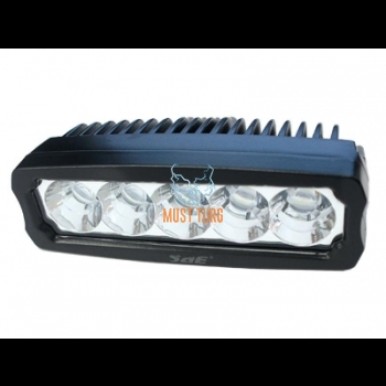 Work light 9-36V 15W 1050lm CE 10R RFI / EMC IP68 black SAE