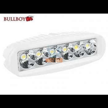 Led work light 12-32V 18W 6X3W CREE 1260lm white Bullboy