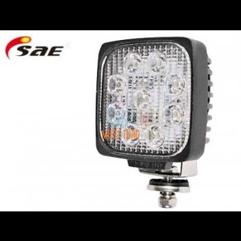Work light Led 27W 9-36V 1450lm CE RFI / EMC IP68 SAE