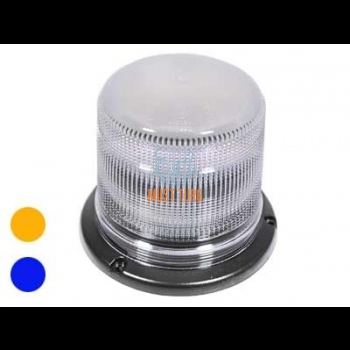 Flasher LED yellow / blue 12-24V 40W IP67 EMC R10 E R65 TA1 / TB2