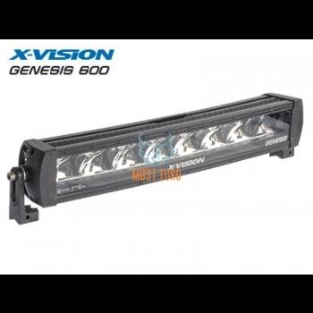 High beam LED X-VISION Genesis 600 9-30V 120W Ref.30 8000lm