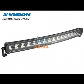 High beam LED X-VISION Genesis 1100 9-30V 240W Ref.40 14400lm / 7200lm