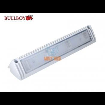 Töötuli-kohtvalgusti LED 12-24V, 27W, 2300lm, 5500K, IP68, valge Bullboy