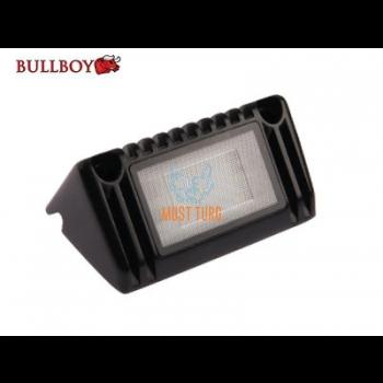 Töötuli-kohtvalgusti LED 12-24V, 9W, 770lm, 5500K IP68, must Bullboy