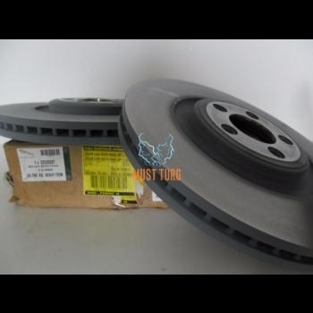 Front brake disc set Jaguar XF C2C25337