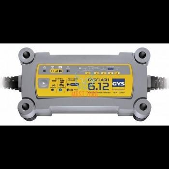 Akulaadija GYSFLASH 6A 12V 1,2-125AH (170AH) GYS