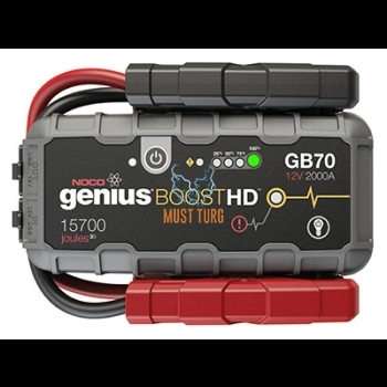 Starter Booster NOCO Genius Booster GB70 12V 2000A Lithium