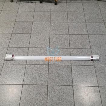LED valgusti 36W, IP65, 3350lm, 4000K, õhuke korpus 1260x75x25mm