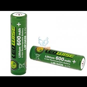 Lithium-aku 600mAh, 3.7V, 14430 Ledwise