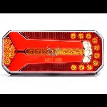 Tagatuli LED parem/vasak 12-24V EC EMC E20 IP68 236x104x40mm