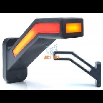 Ääretuli LED parem, 12-24V, tagumise suunatulega