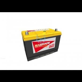 Autoaku 100AH 850A 302X172X220 -/+ Hankook UMF kaltsiumaku