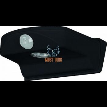 Uksevalgustus LED liikumisanduriga, patareidega 4xAA, IP44, must Osram