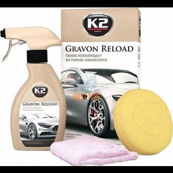 Keraamilise vaha hooldusvahend K2 Gravon Reload 250ml