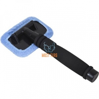 Glass cleaner with telescopic arm 29-45cm