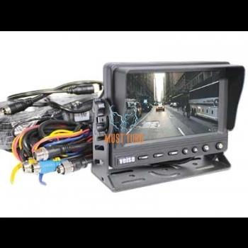 """Ekraan 5"""" piduritulekaamera komplektidele 11-32V, 4 klemmiga, -085"""