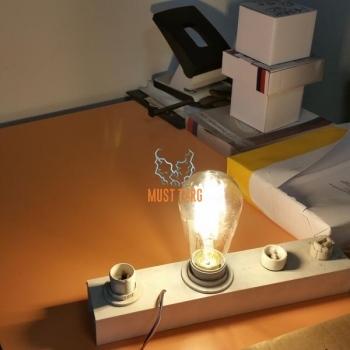 Lambipirn LED filament 6W 600lm E27 kuldne toon