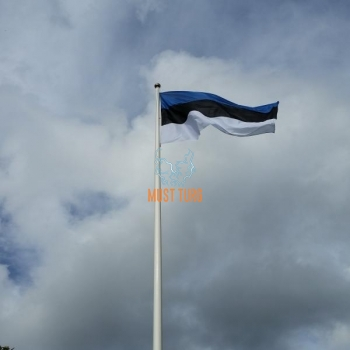 Eesti Vabariigi mastilipp 125x196cm Premium