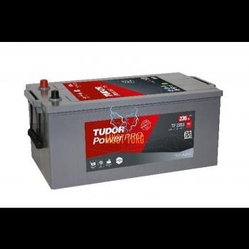 Veoauto aku 235Ah 1300A 518x276x240 +/- Tudor Proressional Power HDX